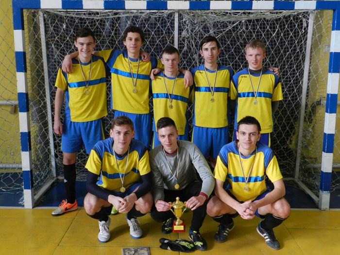 «Херсон-47-А» виборов Кубок області з футзалу серед команд юнаків
