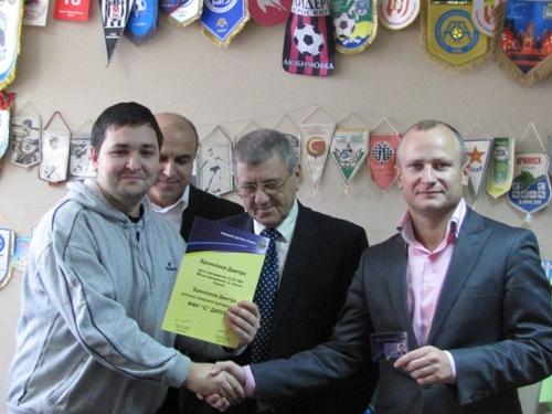 23 тренери отримали дипломи Федерації футболу України категорії «С»