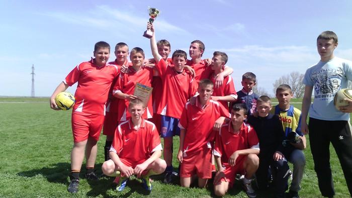 У Каховському районі пройшли змагання з футболу серед юнаків