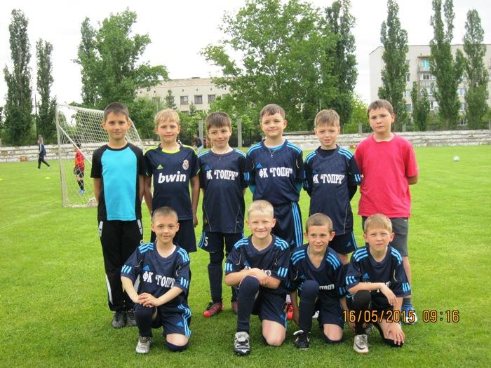 16.05.15 Перший відкритий чемпіонат по футболу .