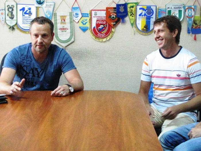 Встреча президента МФК «Продэксим» с коллективом