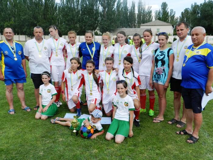 Кубок «Золотий колос України» серед дівочих команд