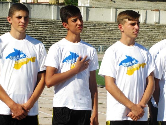 Турнір «Крим – це Україна». Урочисте відкриття