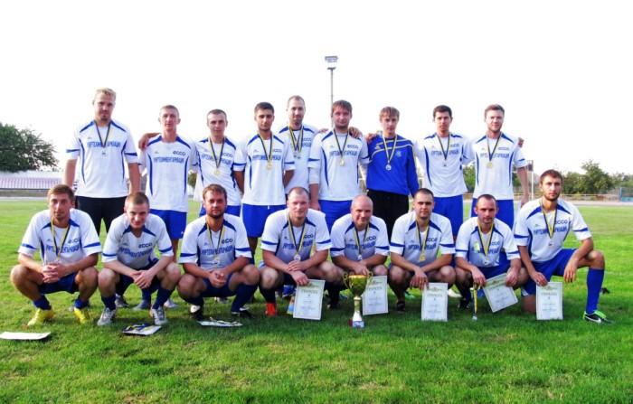 «ЕККО» – чемпіон Каховки з футболу 2015 року