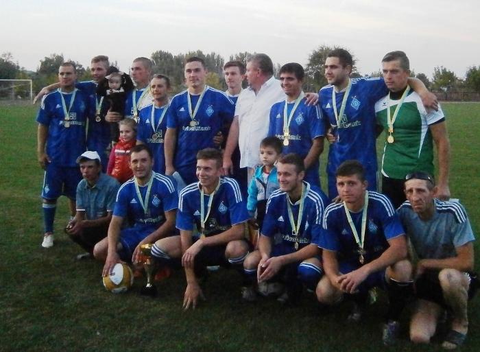 Команда с. Чорнянка – переможець першості Каховського району