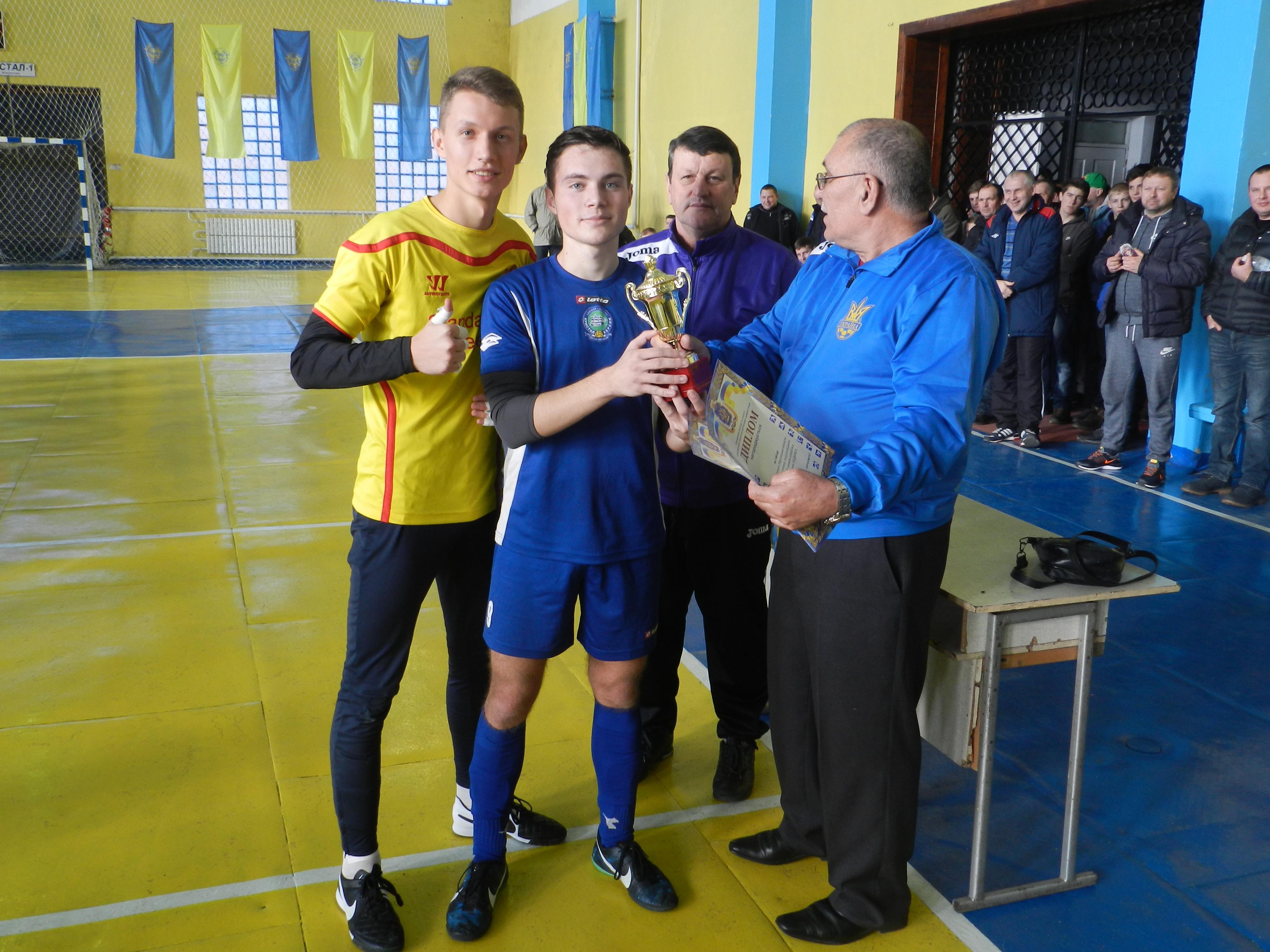 Підсумки проведення фінальних змагань ІІІ етапу чемпіонату області  з футзалу сезону 2015/2016 років серед команд юнаків 2000/2001 рр.н.