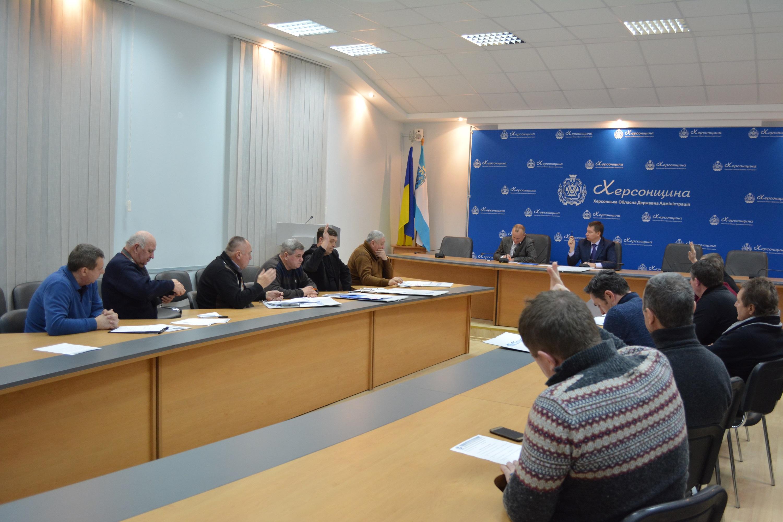 20  січня 2017 року відбулось засідання виконкому Херсонської обласної федерації футболу.
