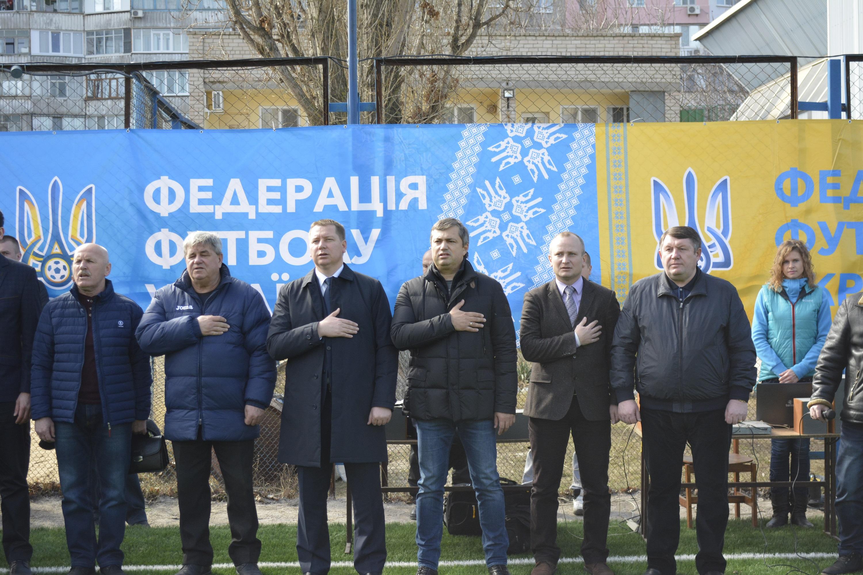 У Херсоні відбулось урочисте відкриття «Відкритого Кубку федерації футболу АР Крим 2017 року»