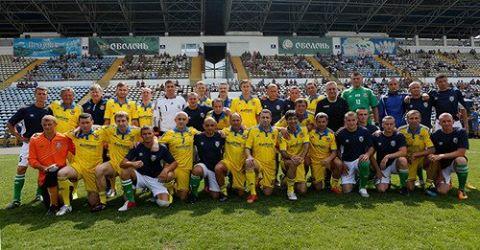 Сборная Украины среди ветеранов проведет два матча на Херсонщине