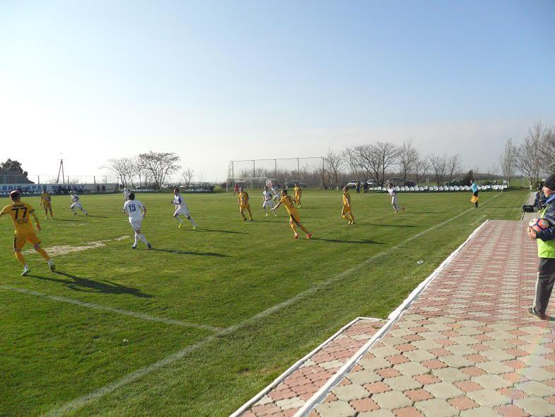 Керівники області та району вболівали за горностаївських футболістів