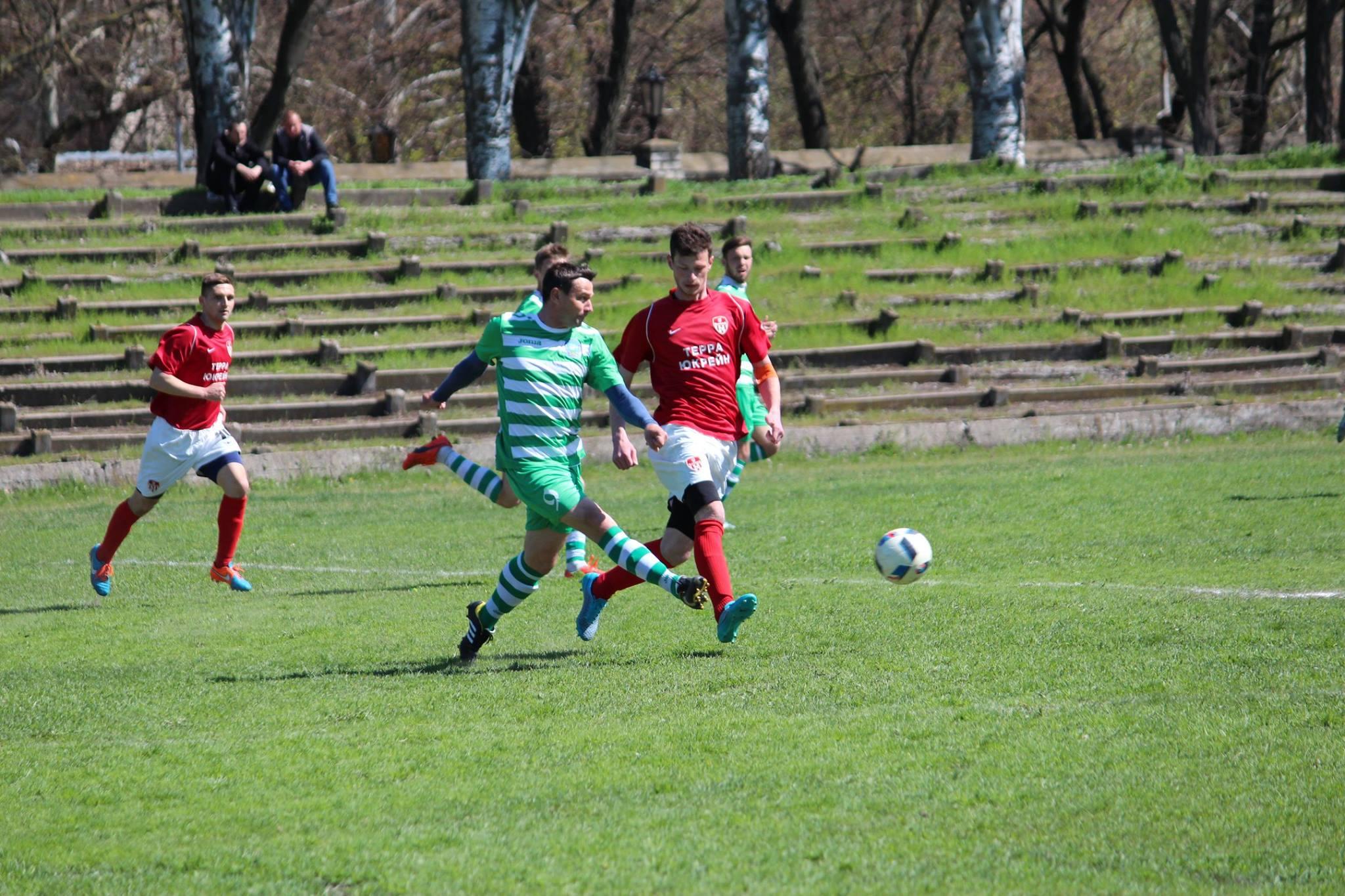 МФК «Кристал» Херсон розпочав Чемпіонат Херсонської області з футболу з перемоги