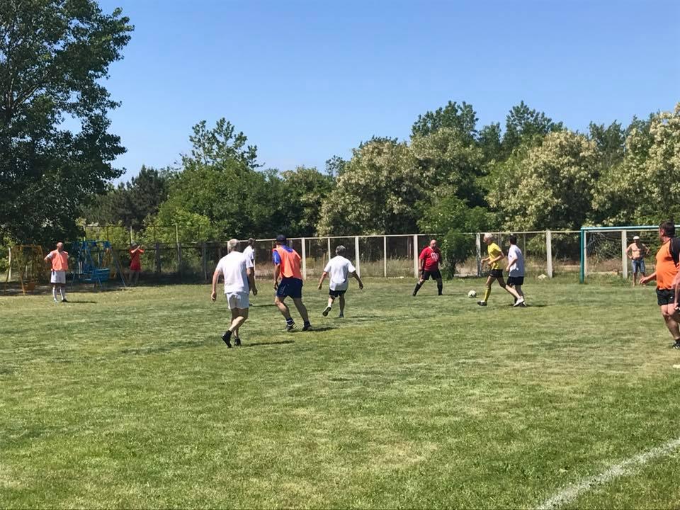Херсонские судостроители победили в отраслевом чемпионате по футболу