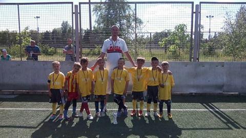 Херсонские дети – вице-чемпионы Всеукраинского футбольного турнира