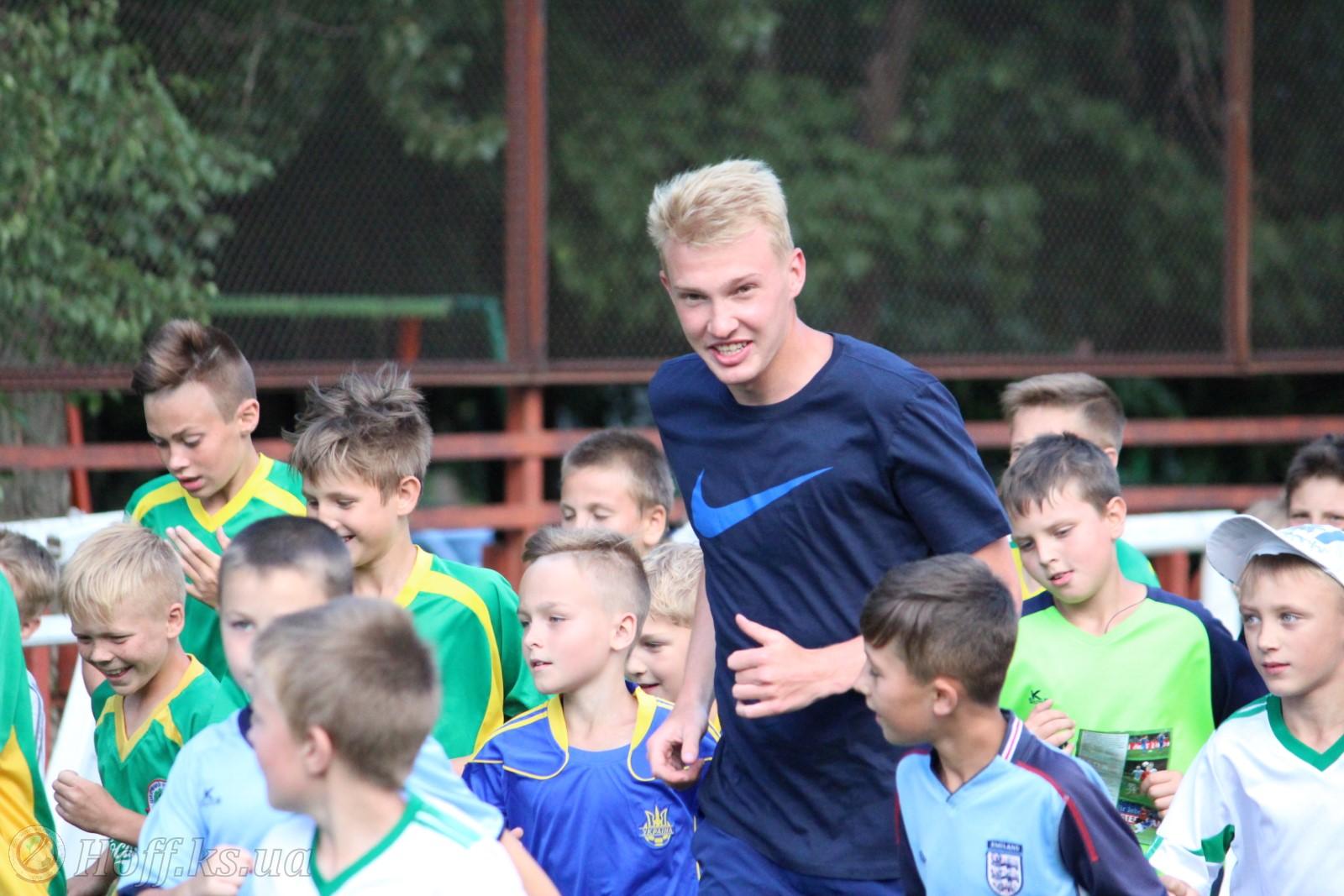 Віктор Коваленко провів футбольний майстер-клас у Херсоні