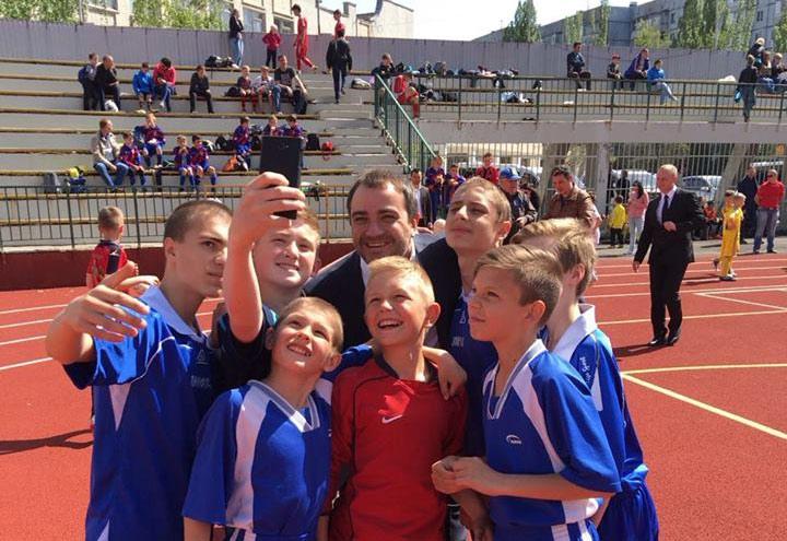 Андрій Павелко: Чим більше майданчиків, тим простіше залучати дітей до занять футболу