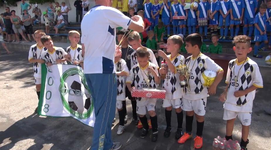 В Чернобаевке на День конституции состоялись соревнования по мини-футболу