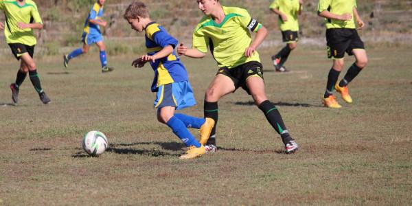 Відбулись перші матчі дитячо-юнацької футбольної ліги Херсонської області.