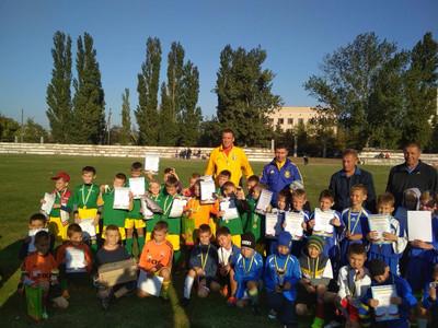 Дитячий турнір з футболу, присвячений до 308-ї річниці заснування міста Гола Пристань