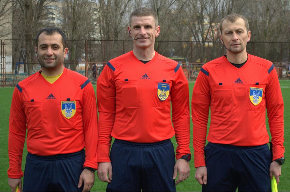 Херсонські арбітри отримали призначення на матчі розіграшу 1/8 Кубку України сезону 2017/2018 років