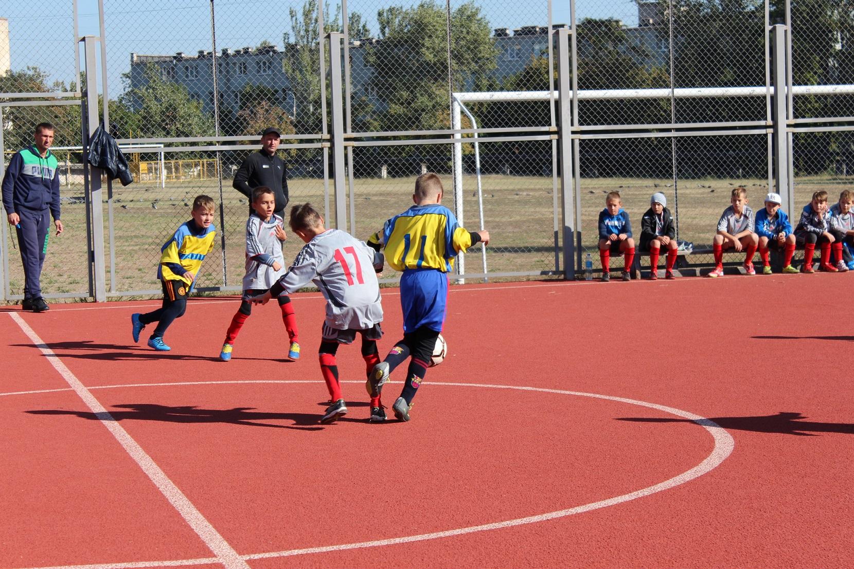 Відкритий чемпіонат м.Херсону з футболу серед команд юнаків 2007 року народження