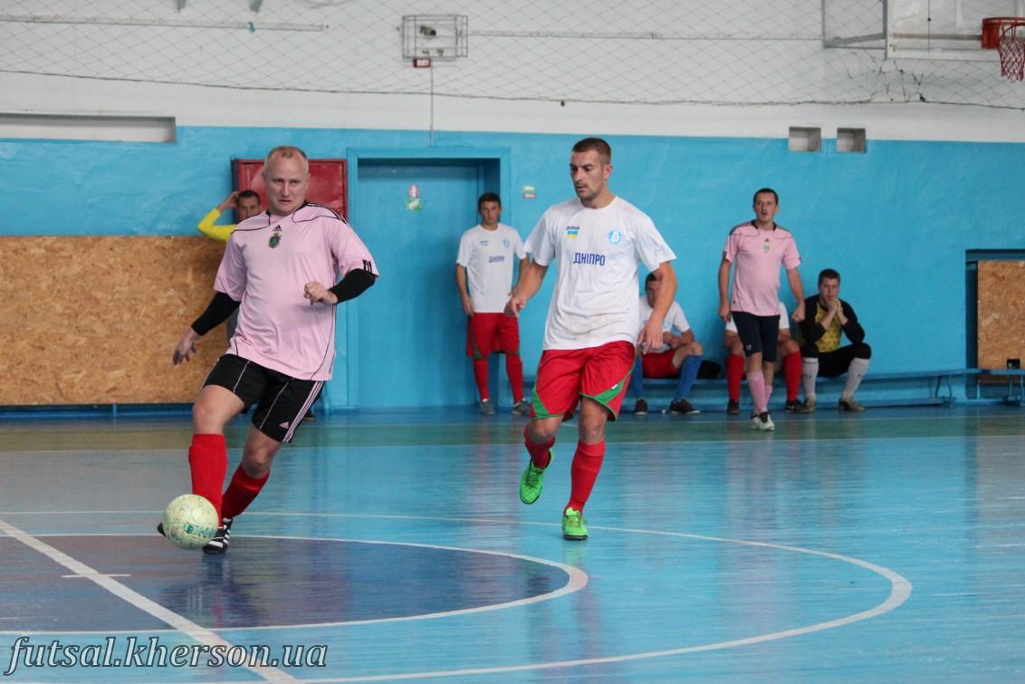 14-15 октября состоялись игры третьего тура открытого чемпионата Херсонской областной ассоциации футзала