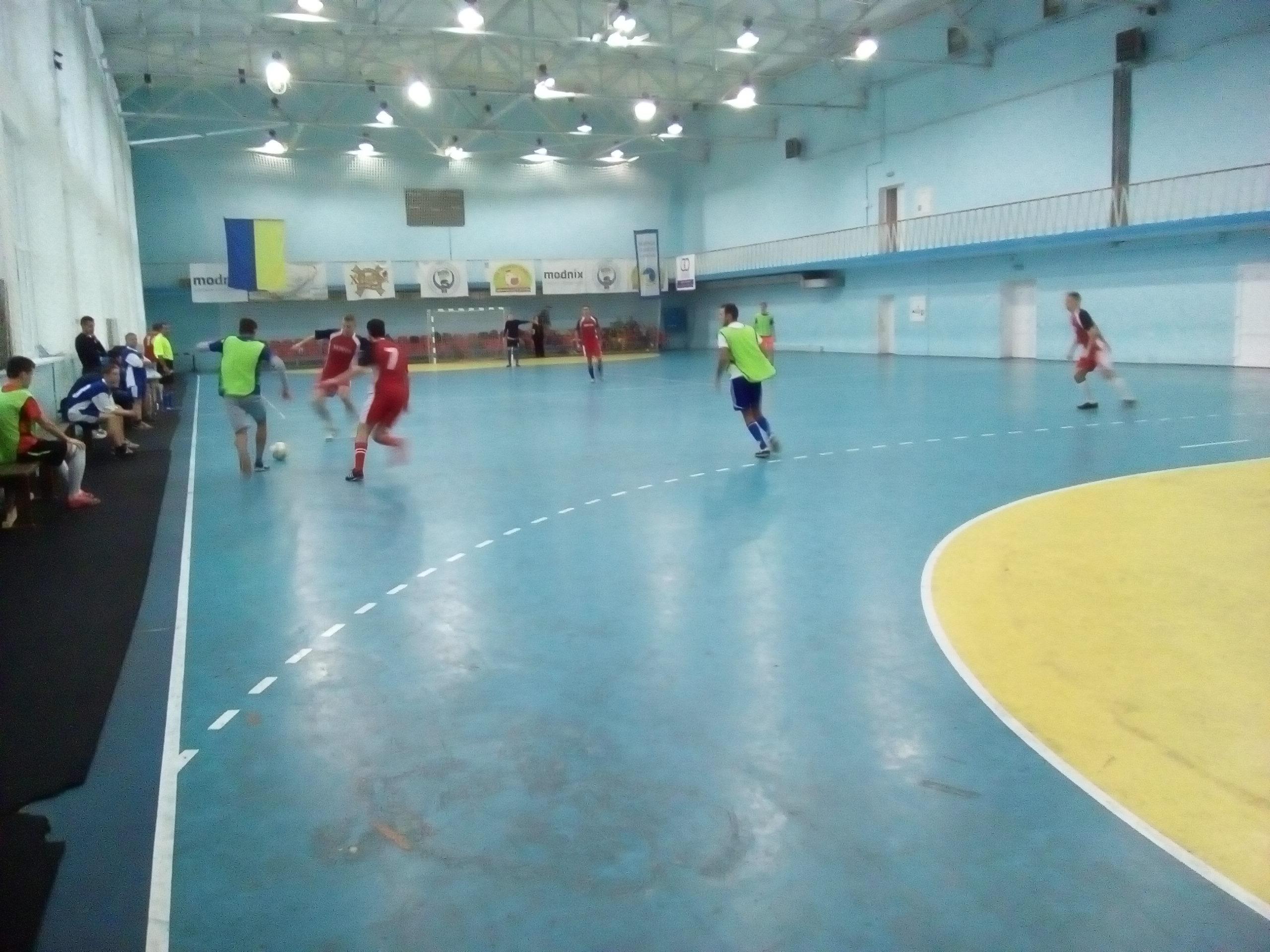 У місті Херсоні пройшли ігри на кубок області з футзалу серед спортсменів з інвалідністю