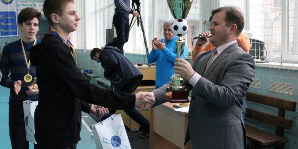 Кубок Украины по футзалу U-17 2018 года. Награджение