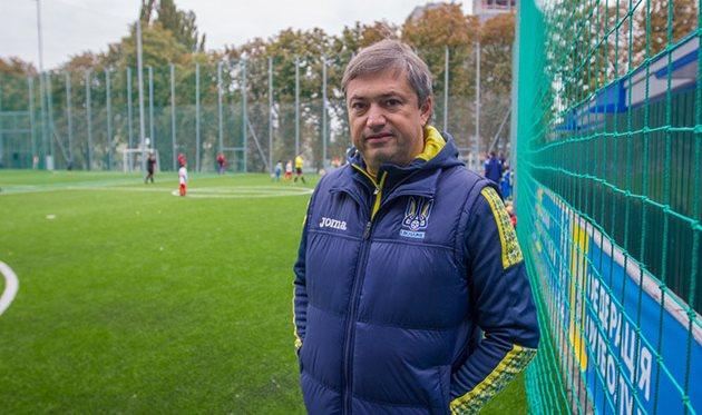 """Фестивали """"Открытые уроки футбола"""" — это основа для развития массового футбола в Украине"""