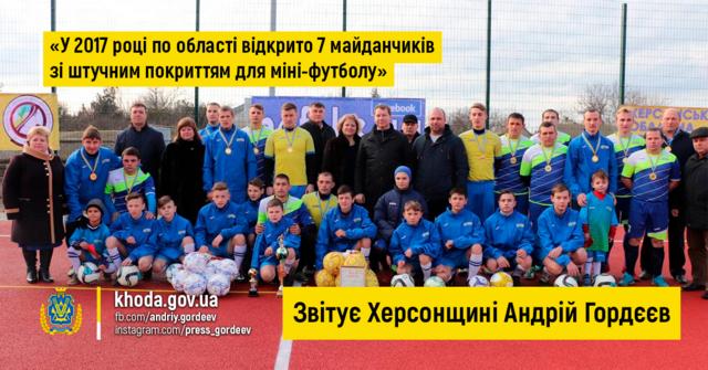 Андрей Гордеев футболизирует Херсонщину