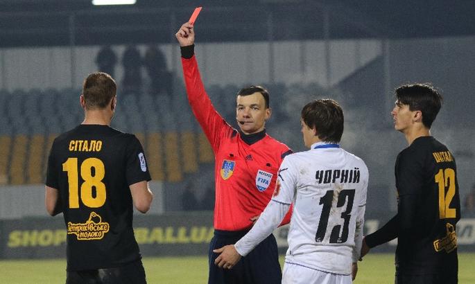 КДК ФФУ отстранил Артема Ситало на два матча