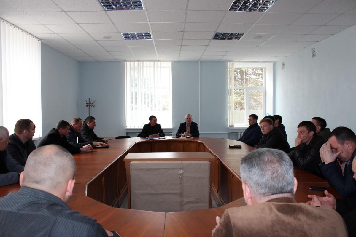 """Засідання громадської організації """"Футбольна ліга Білозерського району"""""""