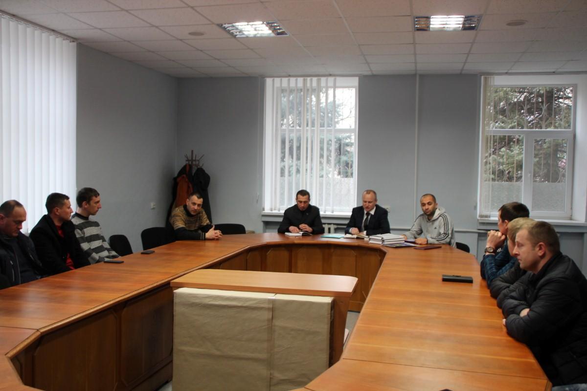 """Відбулося засідання громадської організації """"Футбольна ліга Білозерського району""""."""