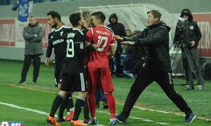 Юрий Максимов получил 4-матчевую дисквалификацию за инцидент в матче с Сумгайытом