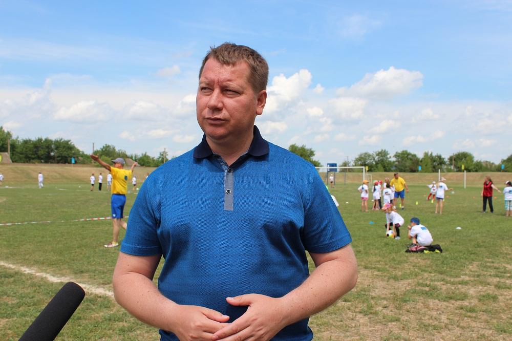 Андрій Гордєєв про свято у Нижніх Сірогозах
