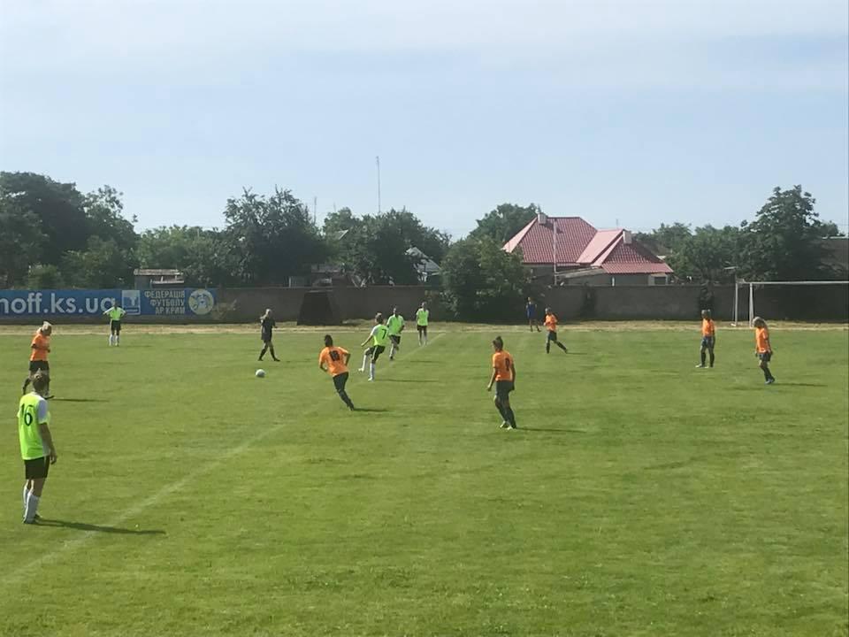 Матч за 3 місце фінального етапу Чемпiонату України з футболу серед жіночих команд