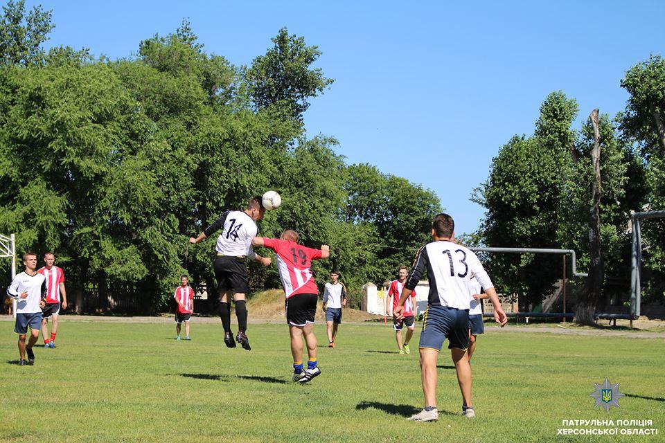 Патрульні зіграли у футбол із вихованцями школи-інтернату
