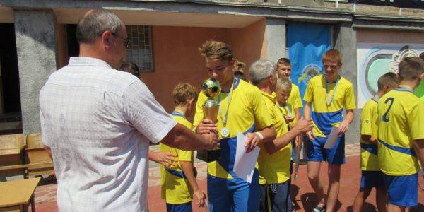 Всеукраїнські спортивні змагання під девізом «Хто ти, майбутній олімпієць?» з футболу серед дівчат та юнаків