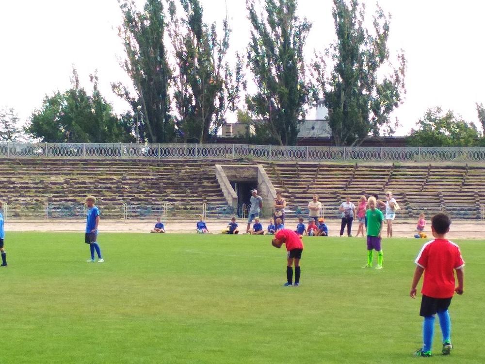 Товариська гра з футболу між командами юнаків 2009 р.н.