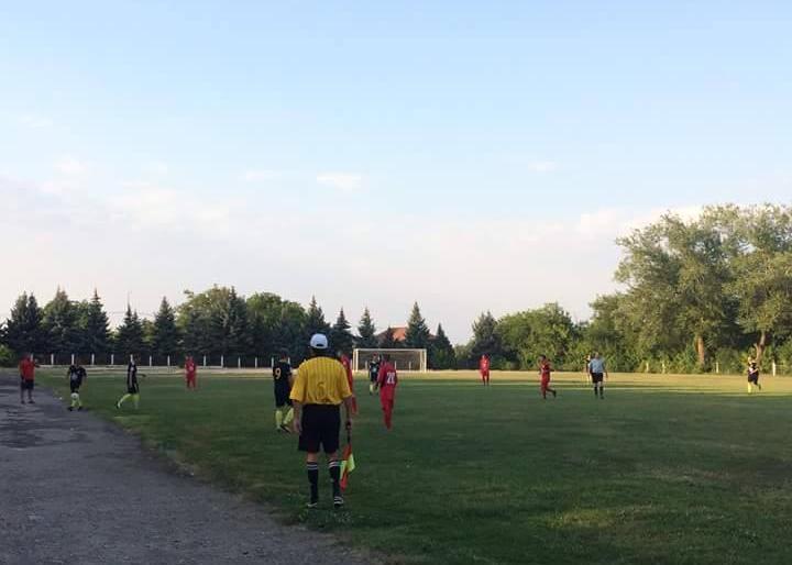 Херсонська футбольна команда учасників АТО знову виборола перемогу