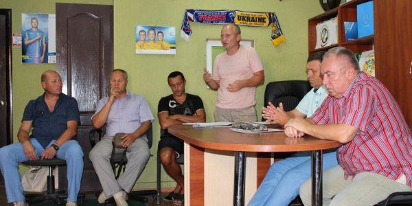 Відбулося зібрання з представниками команд Чемпіонату та Першості Херсонської області серед аматорських команд 2018 року стосовно початку другого кола змагань
