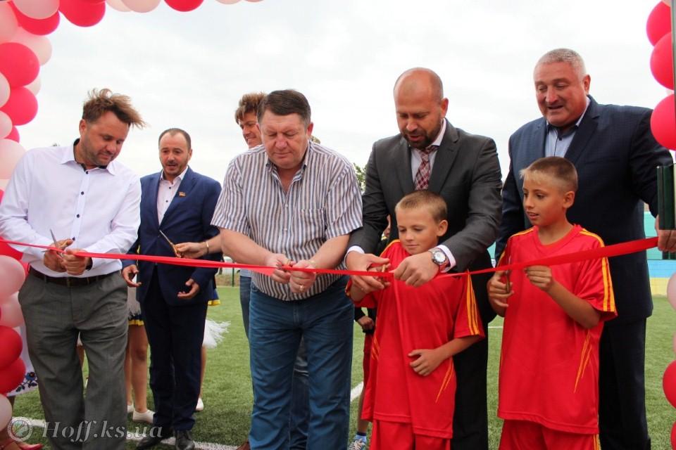 Відкрито новий футбольний майданчик у селі Милове