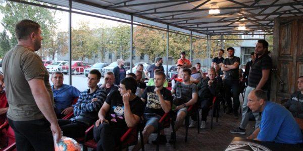 Состоялось первое организационное собрание представителей команд по поводу старта нового сезона открытого чемпионата АФХО