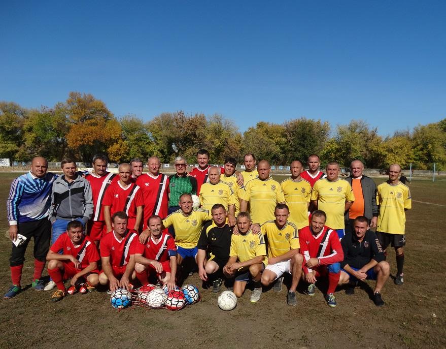 Традиційний матч вшанування пам'яті футболістів Нововоронцовського району