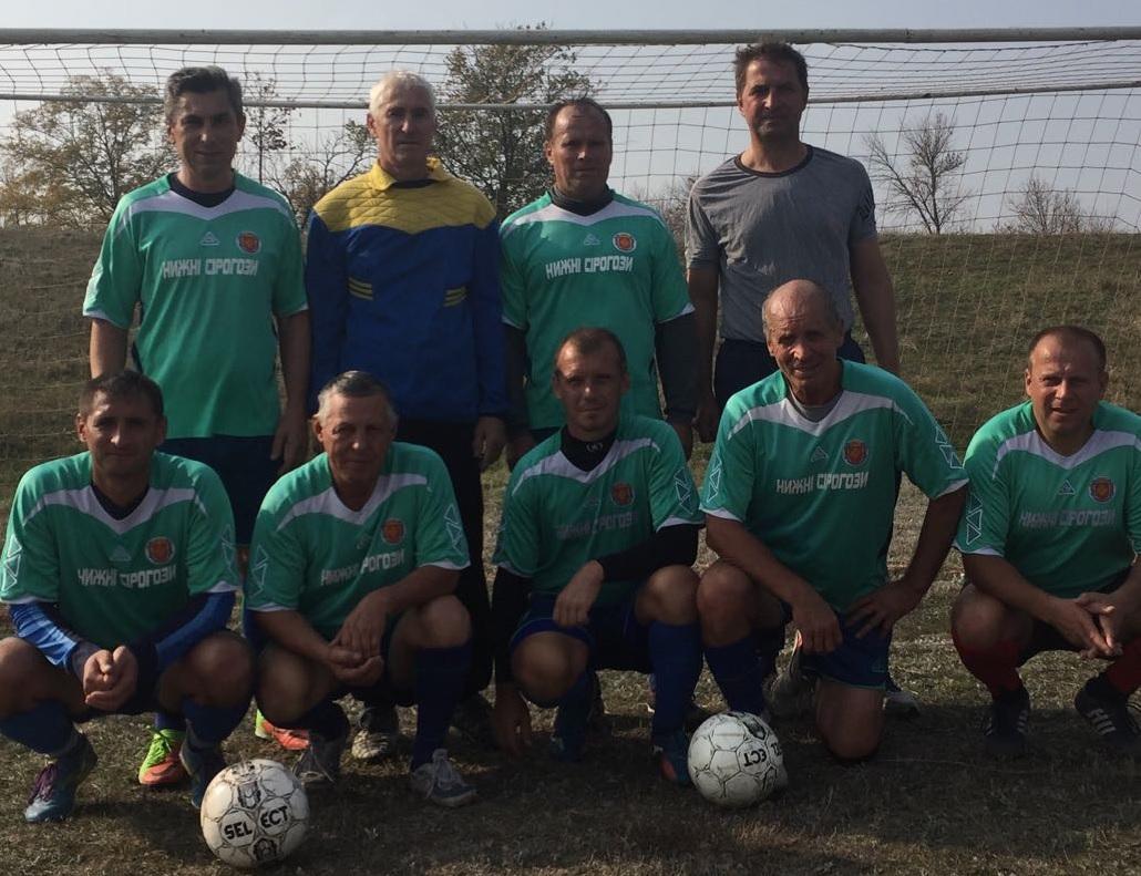 Турнір з футболу серед ветеранів у Великій Білозерці.