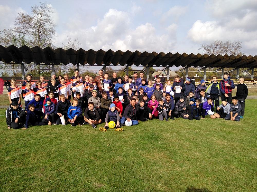 Турнір з футболу серед дитячих команд у Чулаківці.