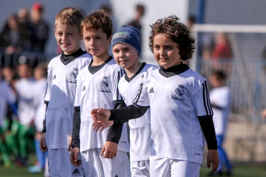 Совместный проект ФФУ, мадридского «Реала» и фонда «Развитие футбола Украины» в действии!