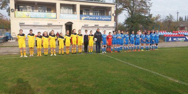 Категорія: Жіночий футбол Чемпіонат Херсонської області серед дівочих команд 2002-2002 рр.н. (U-17)