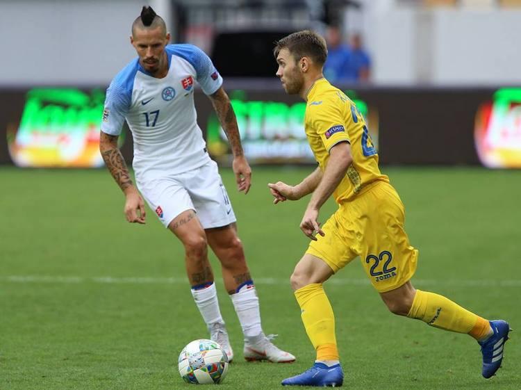 Караваев: Сборная Украины хочет закончить групповой турнир с максимальным результатом