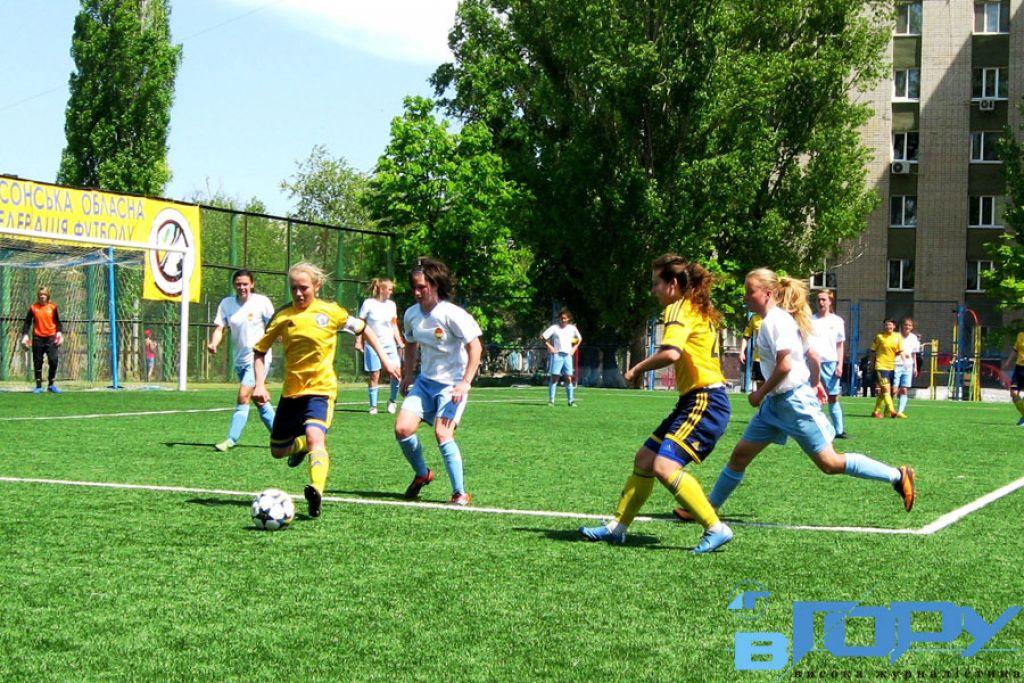 Жіночий футбол набирає в області популярності