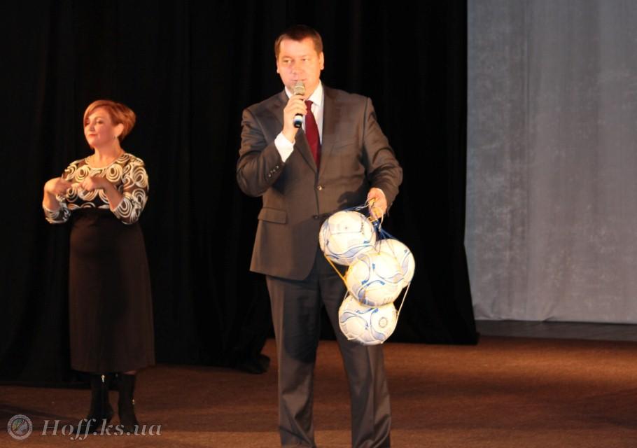 Андрій Гордєєв привітав «Інваспорт» з 25-річчям